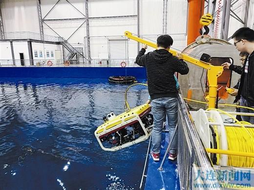 发展水下机器人产业大连具有得天独厚优势